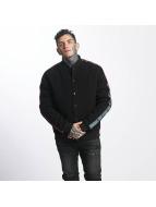 Cayler & Sons CSBL A Listed Raglan Varsity Jacket Black