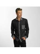 Cazzy Clang Camisa Plaid negro