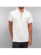 Cazzy Clang Camiseta polo Damp III blanco