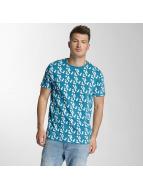 Capri T-Shirt Blau...