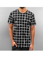 Checked T-Shirt Black...