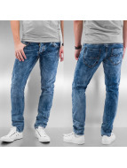 Cazzy Clang Jeans Straight Fit Clan bleu