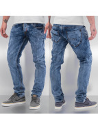 Cazzy Clang Jeans straight fit Acid blu