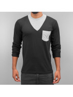 Cazzy Clang Longsleeve Breast Pocket black