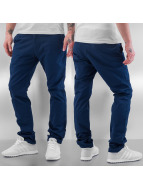 Cazzy Clang Pantalon chino Mehdi bleu