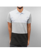 Polo Shirt Blue/Grey/Bla...