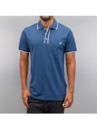 Cazzy Clang Poloshirt Damp II blau