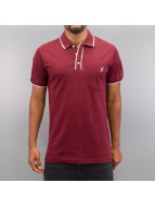 Cazzy Clang Poloshirt Damp II rot
