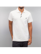Cazzy Clang Poloshirt Damp III weiß