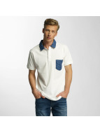 Cazzy Clang Poloshirt Point weiß