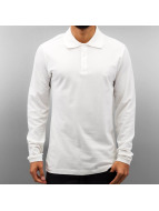 Cazzy Clang poloshirt Classic LS wit