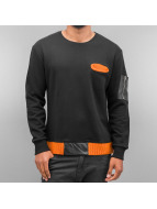 Cazzy Clang Pullover Light Kitted noir