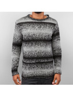 Cazzy Clang Pullover Two Tone schwarz