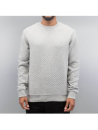 Quilt Sweatshirt Grey...