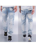 Cazzy Clang Straight Fit Jeans Wishy Washy blau