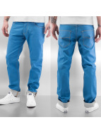 Cazzy Clang Straight Fit Jeans Tone blau