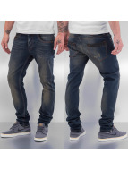 Cazzy Clang Straight Fit Jeans Bass blau