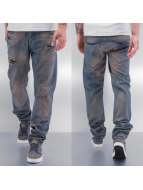 Cazzy Clang Straight Fit Jeans Bass II blau