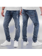 Cazzy Clang Straight Fit Jeans Time blau