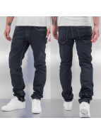 Cazzy Clang Straight fit jeans Used blauw