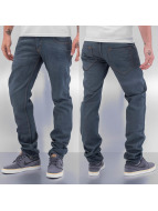 Cazzy Clang Straight fit jeans Clang blauw