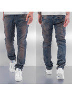 Cazzy Clang Straight fit jeans Dirty blauw