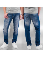 Cazzy Clang Straight fit jeans Bass II blauw