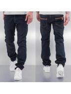 Cazzy Clang Straight Fit Jeans Used schwarz