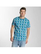 Cazzy Clang t-shirt Capri blauw