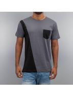 Cazzy Clang T-Shirt Pocket II grau