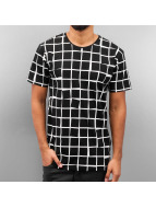 Cazzy Clang t-shirt Checked zwart