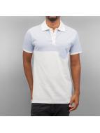 Two Tone Polo Shirt Blue...