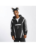 CHABOS IIVII Демисезонная куртка Half Zip Hooded черный