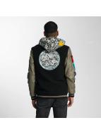 CHABOS IIVII College Wool Jacket Black/Mud