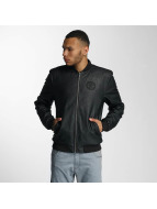 CHABOS IIVII Blok PU Leather Jacket Black
