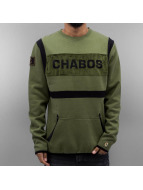 CHABOS IIVII Maglia Quilted oliva
