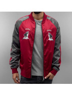 CHABOS IIVII Kick Push Souvenir Jacket Grey/Burgundy