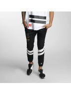 CHABOS IIVII Pantalone ginnico Fourstar Core nero