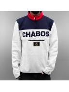 CHABOS IIVII Pullover Athletics Half-Zip blanc