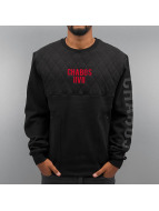 CHABOS IIVII Pullover Quiled noir