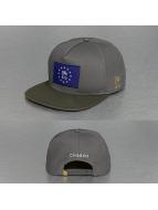 CHABOS IIVII Snapback Cap Cheuro grigio