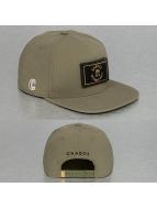 CHABOS IIVII Snapback Caps Core oliwkowy