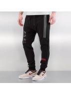 CHABOS IIVII Spodnie do joggingu C-IIVII czarny