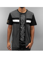 CHABOS IIVII T-Shirt Vertical grau