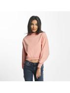 Champion Пуловер Cropped розовый