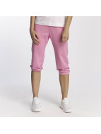Champion Authentic Athletic Apparel 3/4 Elastic Cuff Sweatpants Pink Melange