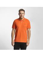 Champion Authentic Athletic Apparel Metropolitan Polo Shirt Orange/Navy/White
