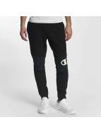 Champion Pantalón deportivo Rib Cuff Block negro