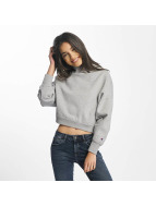 Champion Pullover Cropped grau