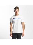 Champion T-Shirt Cotton Graphic blanc